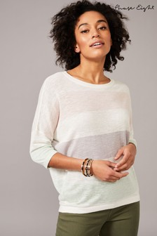 Phase Eight Multi Raine Linen Stripe Jumper