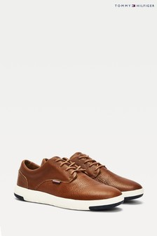 Tommy Hilfiger Brown Lightweight City Leather Shoes