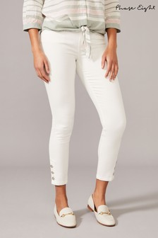 Phase Eight White Bobbie Skinny Jeans