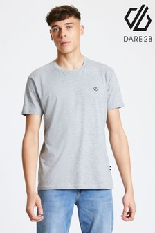 Dare 2b Grey Devout Cotton T-Shirt