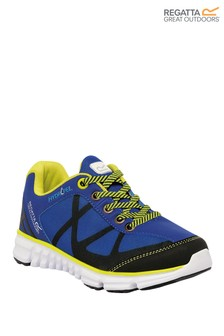 Regatta Blue Hyper-Trail Low Junior Trainers