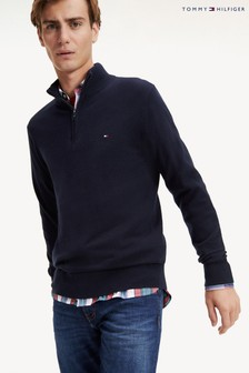 Tommy Hilfiger Luxury Touch Zip Mock Sweater