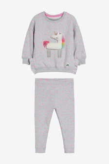Spot Unicorn Sweat And Legging Set (3mths-7yrs)