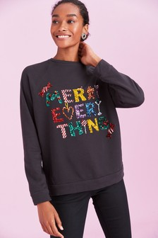 Graphic Christmas Sweatshirt