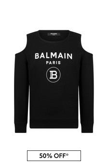 Balmain Cotton Sweat Top