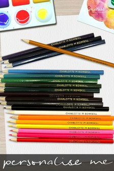 Personalised 20 Colouring Pencils by Signature PG