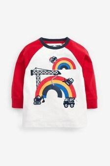 Long Sleeve Appliqué T-Shirt (3mths-10yrs)