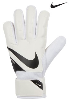 Nike White Goalkeeper Gloves