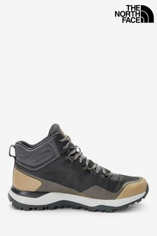 The North Face® Grey Activist Mid Trainers