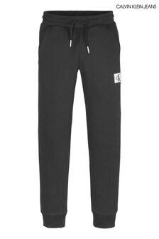 Calvin Klein Black Monogram Sweatpants
