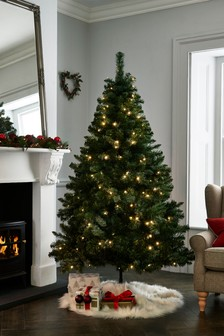 Lit Forest Pine 6ft Lit Christmas Tree