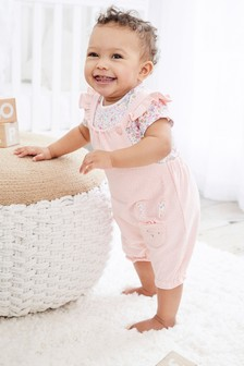 Character Dunagrees and Bodysuit Set (0mths-2yrs)