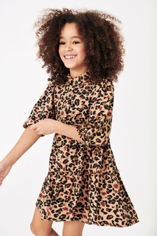 Animal Shirt Dress (3-16yrs)