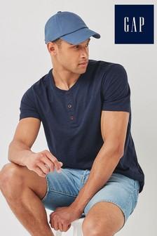 Gap Short Sleeve Henley T-Shirt