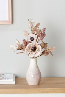 Artificial Floral Mini Bouquet
