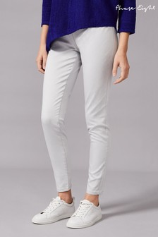 Phase Eight White Amina Skinny Jeggings