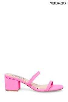 Steve Madden Neon Pink Sandals