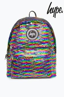 Hype. Rainbow Sequin Backpack