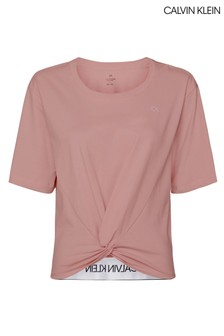 Calvin Klein Pink Knotted T-Shirt