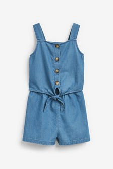 Tie Playsuit (3-16yrs)