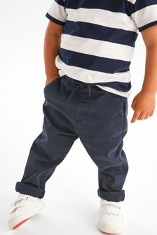 Loose Fit Pull-On Chino Trousers (3mths-7yrs)
