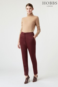 Hobbs Red Gael Trousers