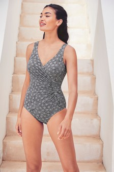 Ruched Side Shape Enhancing Swimsuit