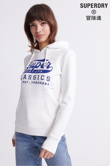 Superdry Blue Print Hoody