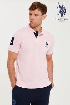 U.S. Polo Assn. Pink Player 3 Polo