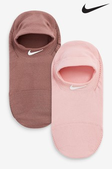 Nike Pink Invisible Socks 2 Pack