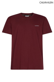 Calvin Klein Red Chest Logo T-Shirt