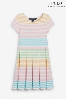 Ralph Lauren White Stripe Dress