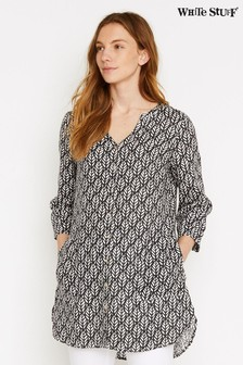 White Stuff Grey Mika Linen Tunic