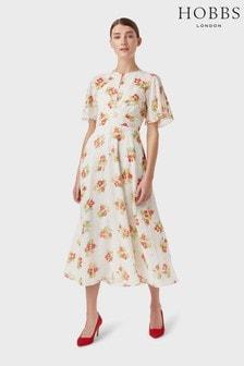 Hobbs White Savannah Dress