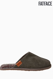 FatFace Grey Jerry Suede Mules