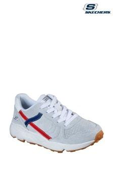 Skechers® White Bobs Gosan Thrillen Throwback Trainers