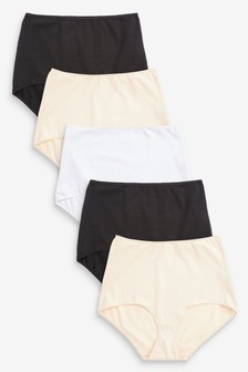 Pure Cotton Knickers 5 Pack