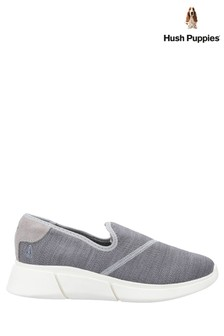 Hush Puppies Grey Makenna Slip-On Shoes