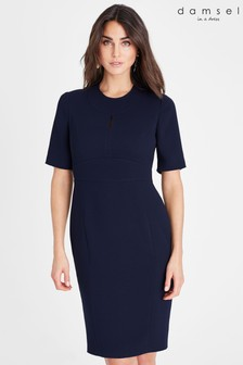 Damsel In A Dress Blue Nina City Suit Dress