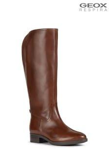 Geox Women's Felicity Brown Boots