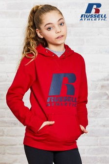 Russell Athletic Girls Logo Hoody