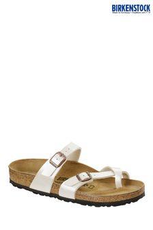 Birkenstock® White Mayari Sandals