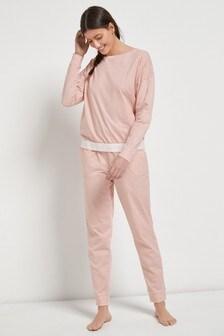 Sporty Stripe Cotton Pyjamas