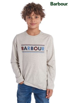 Barbour® Boys Long Sleeve Logo Top