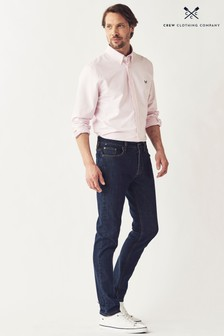 Crew Clothing Company Blue Spencer Slim Jeans