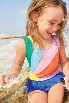 Boden Blue Novelty Appliqué Swimsuit