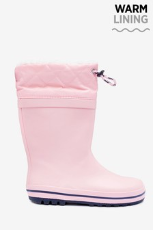 Warm Lined Cuff Wellies (Older)