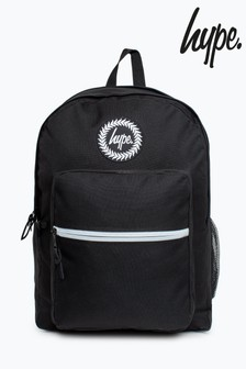 Hype. Black Utility Backpack