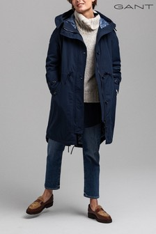 GANT Blue Sustainable Choice Oversized Parka