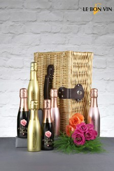 Mini Prosecco 20cl Fizz Gift Set by Le Bon Vin